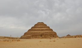 Step pyramid at Saqqara, Egypt Royalty Free Stock Photography