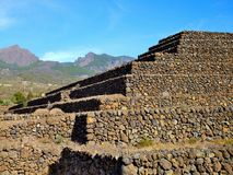 Step Pyramid in Tenerife Stock Image