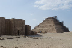 Step Pyramid. Was the prototype of other pyramids Royalty Free Stock Photos