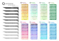 11 Step of Qualitative Research Process. Business and Marketing or Social Research Process, 11 Step of Qualitative Research Methods vector illustration