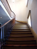 Step's Journey. Winding staircase in plantation home Royalty Free Stock Photos