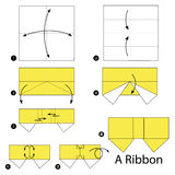 Origami Bow - How to make a Paper Bow easy step by step - YouTube   160x160