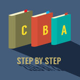 Step by Step Learning Concept Royalty Free Stock Photo