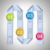 Step by step ribbons manual Stock Photos