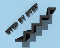 Step by step Stock Photos