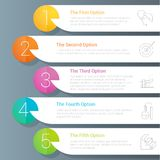 Step by step vector template vector illustration