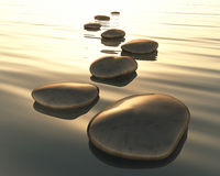 Step stones Royalty Free Stock Photography
