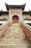 Step of the temple. Step to temple above Royalty Free Stock Photography