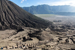 Step to Bromo Stock Photos