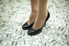 Step to wealth Stock Photography