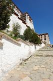 Step up to Potala palace Stock Photography