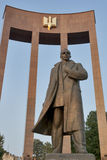 Stepan Bandera纪念碑 库存图片