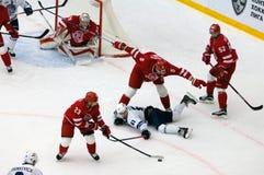 A Stepanov (61) cai para baixo Fotografia de Stock