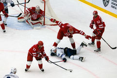 A Stepanov (61) daling neer Stock Fotografie