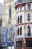 Stephan Catedral in Wenen Stock Afbeeldingen