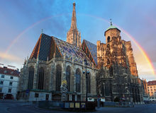 Stephan cathedral in Vienna, Austria.  Royalty Free Stock Photo