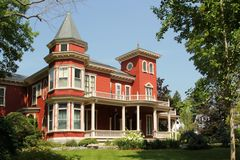 Stephan King house. BANGOR, MAINE, AUGUST 27 2014: House of Stephan King in Bangor Maine, august 27, 2014 Stock Image