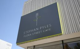 Stephan Pyles Flora Street Cafe. Stephan Pyles is a chef, cookbook author, philanthropist, and educator. Pyles is also one of the founding fathers of Stock Photo