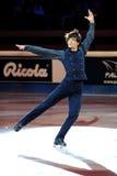 Stephane Lambiel à la récompense d'or du patin 2011 Photographie stock