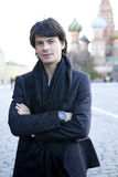 Stephane Lambiel. Moscow - OCTOBER 18: Professional skater Stephane Lambiel from Switzerland Moscow  October 18, 2010. Moscow. Russia Stock Images