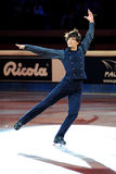 Stephane Lambiel at 2011 Golden Skate Award Stock Photography