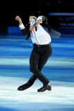 Stephane Lambiel at 2011 Golden Skate Award. Ice skater Stephane Lambiel, Figure Skating 2006 World Champions and Olympic vice-champions, exhibiting at Golden Stock Images
