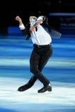 Stephane Lambiel en la concesión de oro del patín 2011 Imagenes de archivo