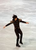 Stephane Lambiel (Switzerland) Royalty Free Stock Photos