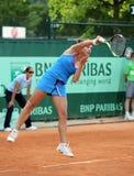 Stephanie Dubois (KÖNNEN Sie), bei Roland Garros 2011 Lizenzfreie Stockfotos
