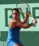 Stephanie Dubois (KÖNNEN Sie), bei Roland Garros 2011 Lizenzfreie Stockbilder