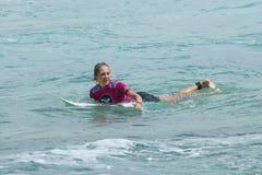 Stephanie Gilmore - Roxy Pro2011 lizenzfreie stockfotografie