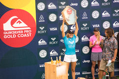 Stephanie Gilmore Winner 2017 World Surf League Tour Stock Photography