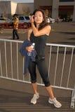 Stephanie Jacobsen. At the 'American Dream 5k Walk' Benefitting Habitat for Humanity. Pacoima Plaza, Pacoima, CA. 10-10-09 Stock Photo