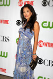 Stephaniue Jacobsen. Arriving at the CBS / Showtime / CW / CBS Television Distribution TCA Stars Party at the Huntington Library in San Marino, CA  on August 3 Stock Photography