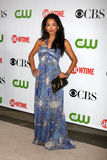 Stephaniue Jacobsen. Arriving at the CBS / Showtime / CW / CBS Television Distribution TCA Stars Party at the Huntington Library in San Marino, CA  on August 3 Royalty Free Stock Image