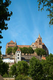 The Stephans Cathedral in Breisach Stock Photography