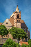 The Stephans Cathedral in Breisach Royalty Free Stock Images