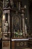 Stephansdom大教堂-维也纳 库存照片