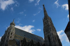 Stephansdom,维也纳 免版税库存图片