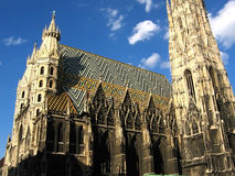 stephansdom obraz stock