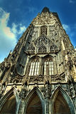 Stephansdom cathedral in Vienna. Stephansdom - Saint Stephens cathedral in Vienna Stock Photography