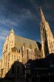 The Stephansdom church Stock Photo