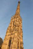 Stephansdom church in Vienna Stock Image