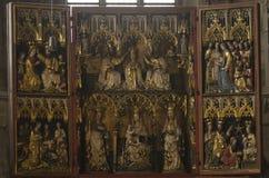 Stephansdom domkyrka - Wien Arkivfoto