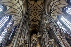 Stephansdom em Viena fotografia de stock