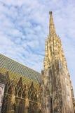 Stephansdom en Viena imagenes de archivo