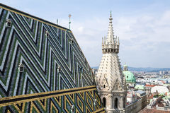 Stephansdom, St. Stephan's Cathedral, Vienna. Stock Photography
