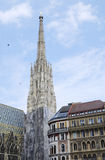 Stephansdom in Vienna Stock Image