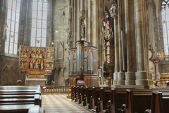 Stephansdom in Vienna Stock Photography