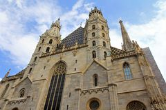 Stephansdom in Vienna, Austria Stock Images